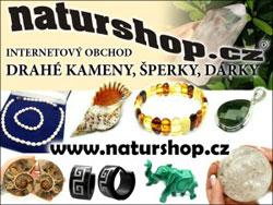 Naturshop.cz - internetový obchod drahé kameny, jantar, šperky, dárky